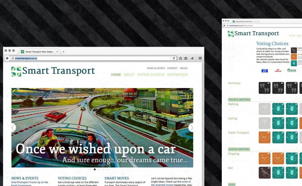 Smart Transport - Site,brand, content