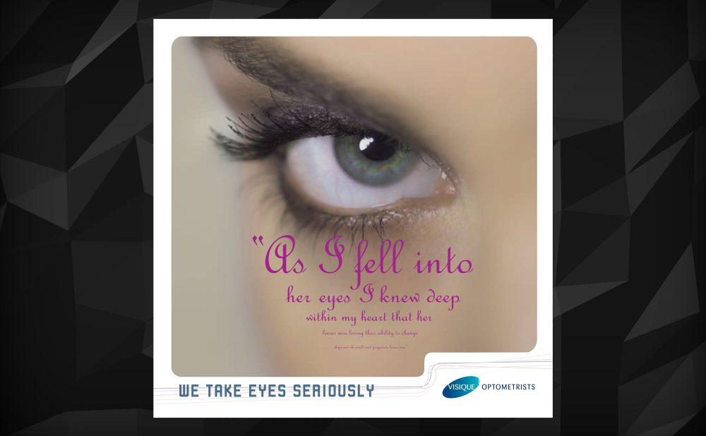 Visique Optometrists (via Radiation agency) Ad