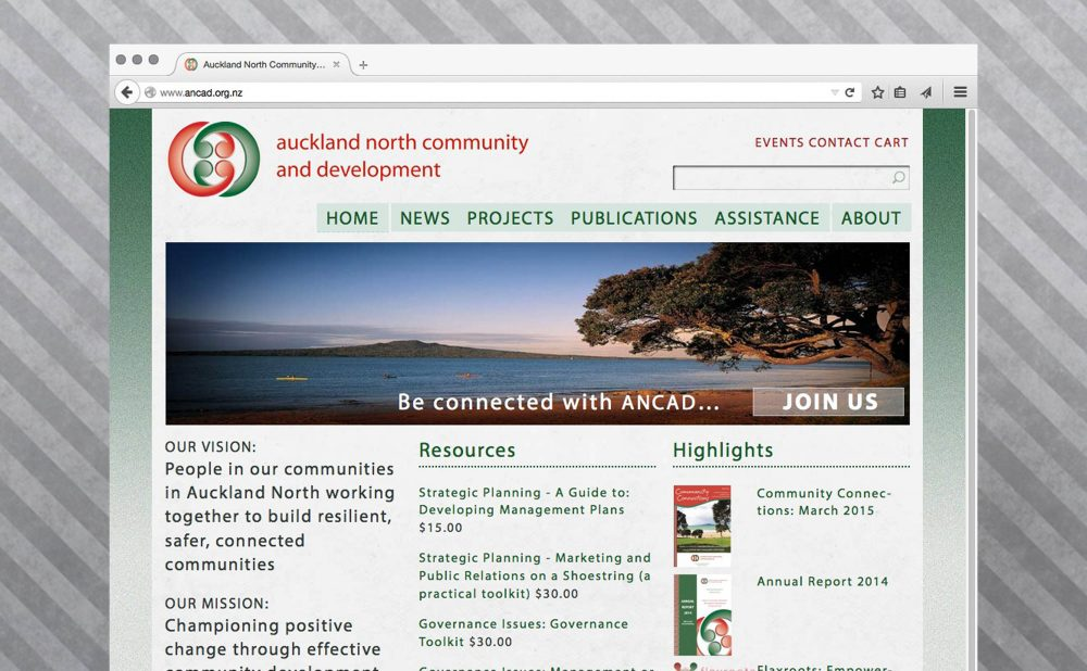 ANCAD CRM and site