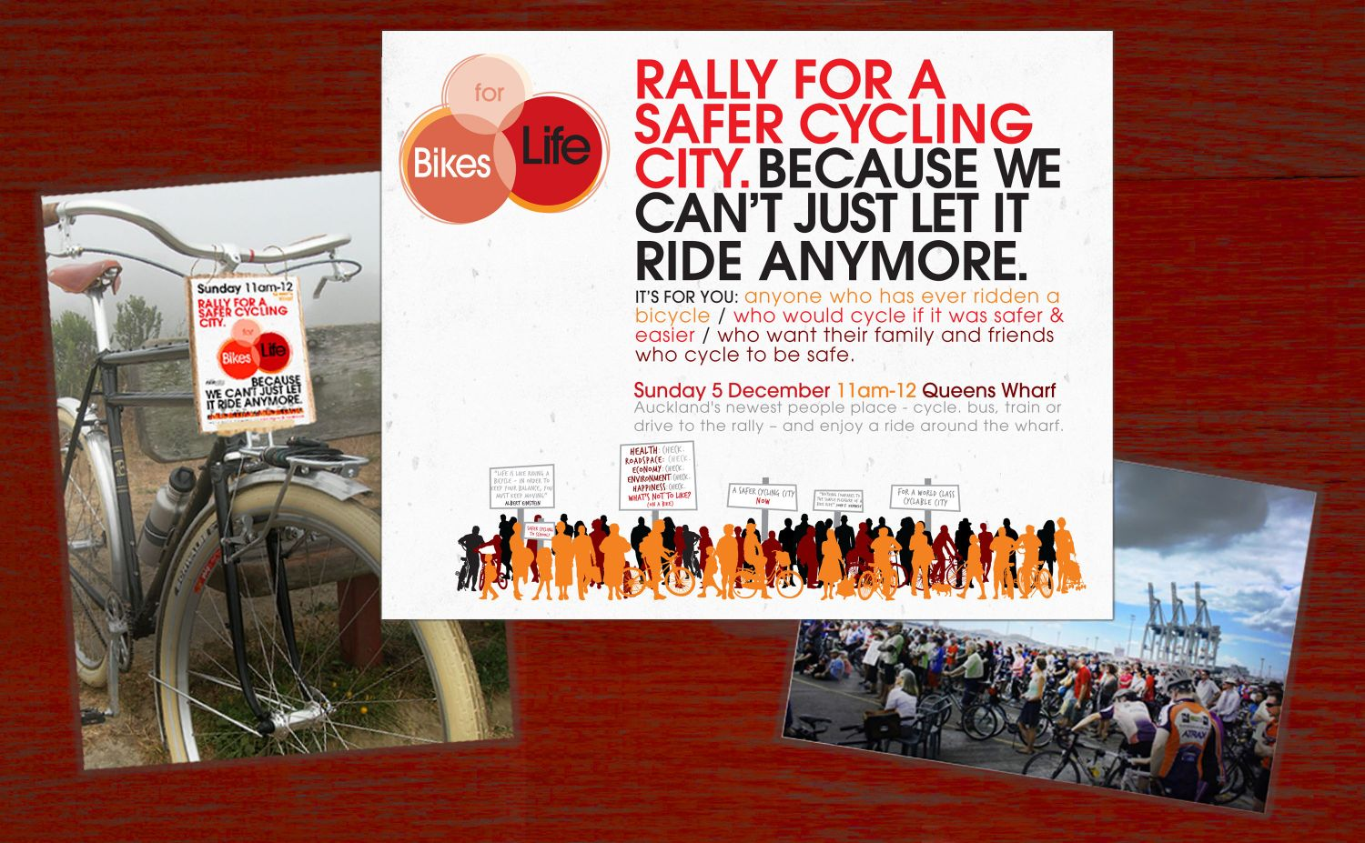 Bikes For Life - Rally promotion
