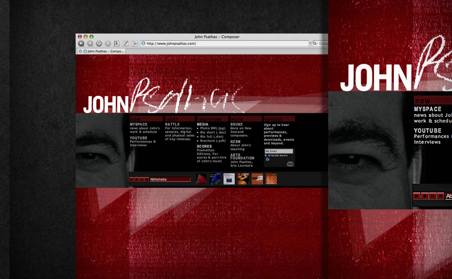 John Psathas - Composer - Single Page Site