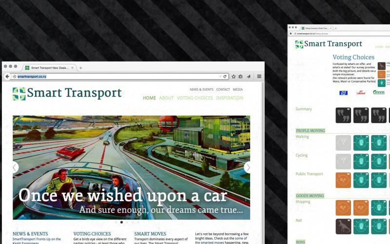 Smart Transport - Site,brand, content