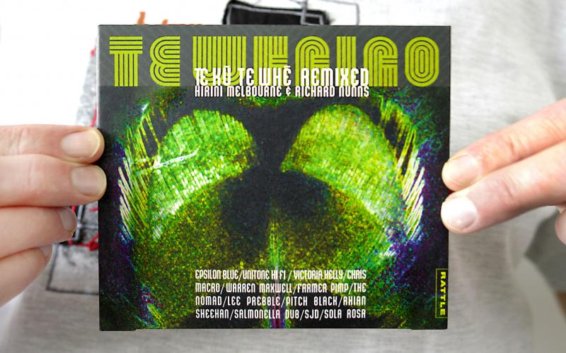 Te Whaiao Album - Cover