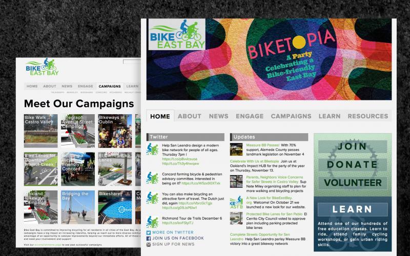 Bike East Bay - Site & CRM