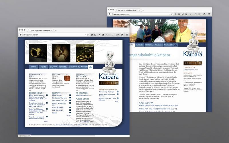 Ngati Whatua o Kaiparamoana - Site & CRM